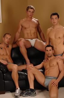 Rod, Marcus, Zac & Tyler Hunt Picture
